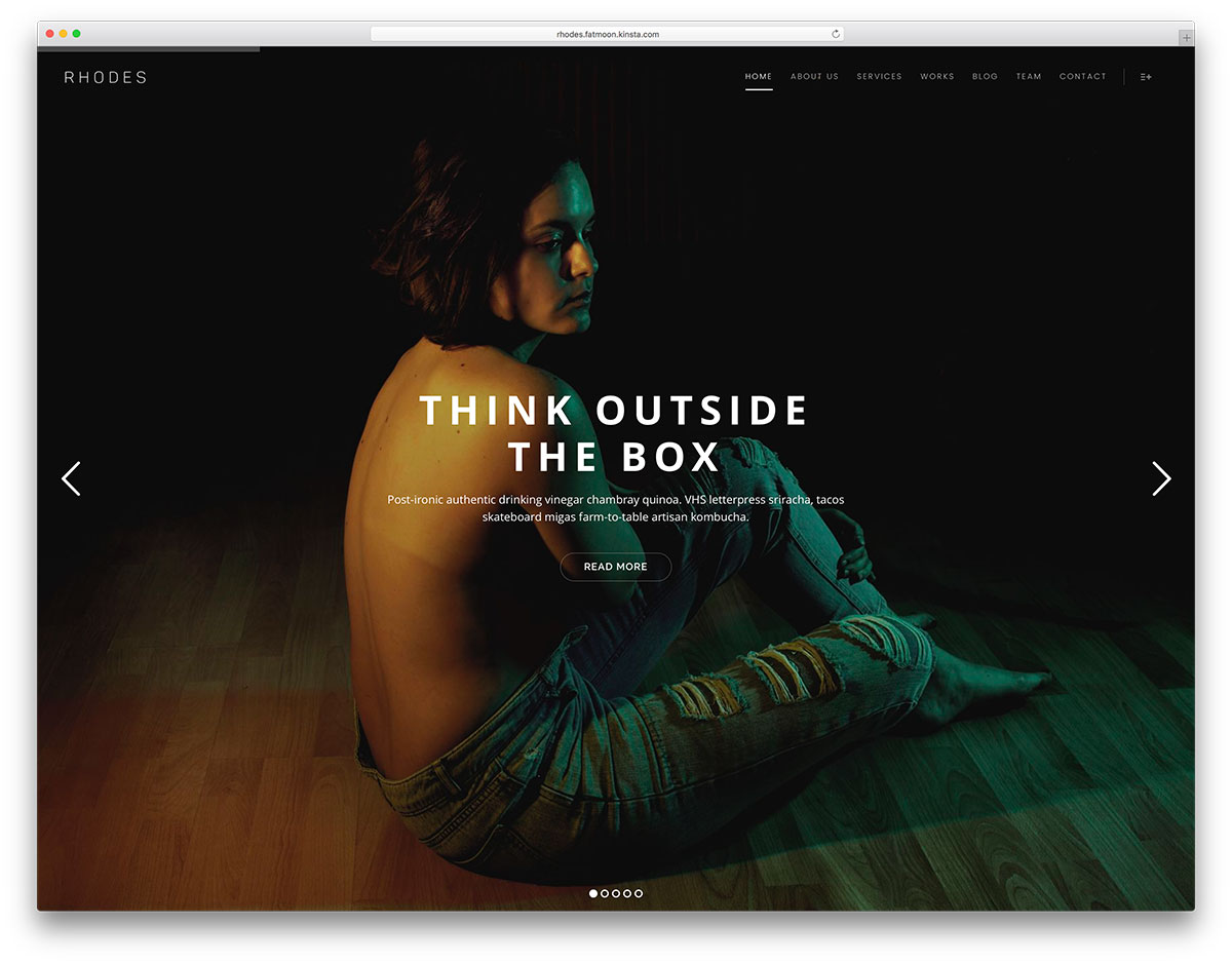 fatmoon-unique-one-page-wordpress-theme
