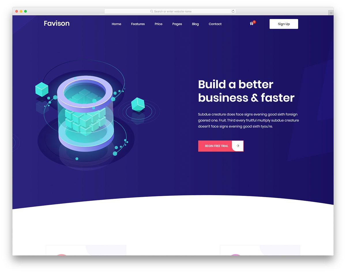 favison free template