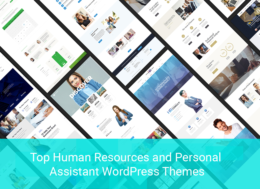 Top Human Resources And Personal Assistant WordPress Themes To Win Audience Loyalty