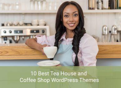 Tea House And Coffee Shop WordPress Theme
