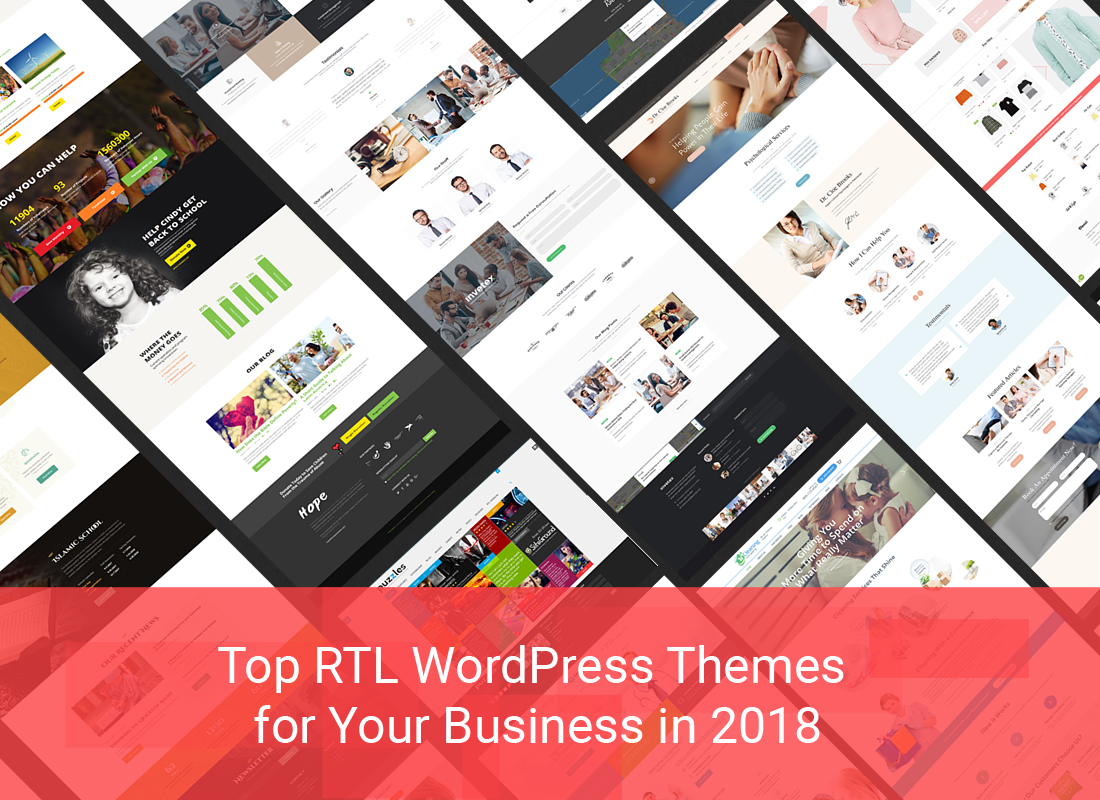 Top RTL WordPress Themes For Your Business In 2018