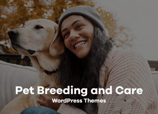 Pet Breeding And Care WordPress Themes