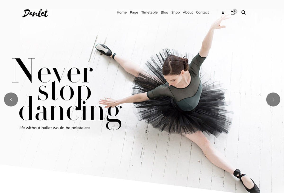 19 Best WordPress Themes For Dance Studios 2019