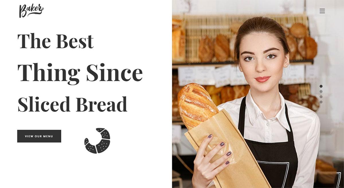 18 Best Bakery Website Templates (HTML & WordPress) 2019
