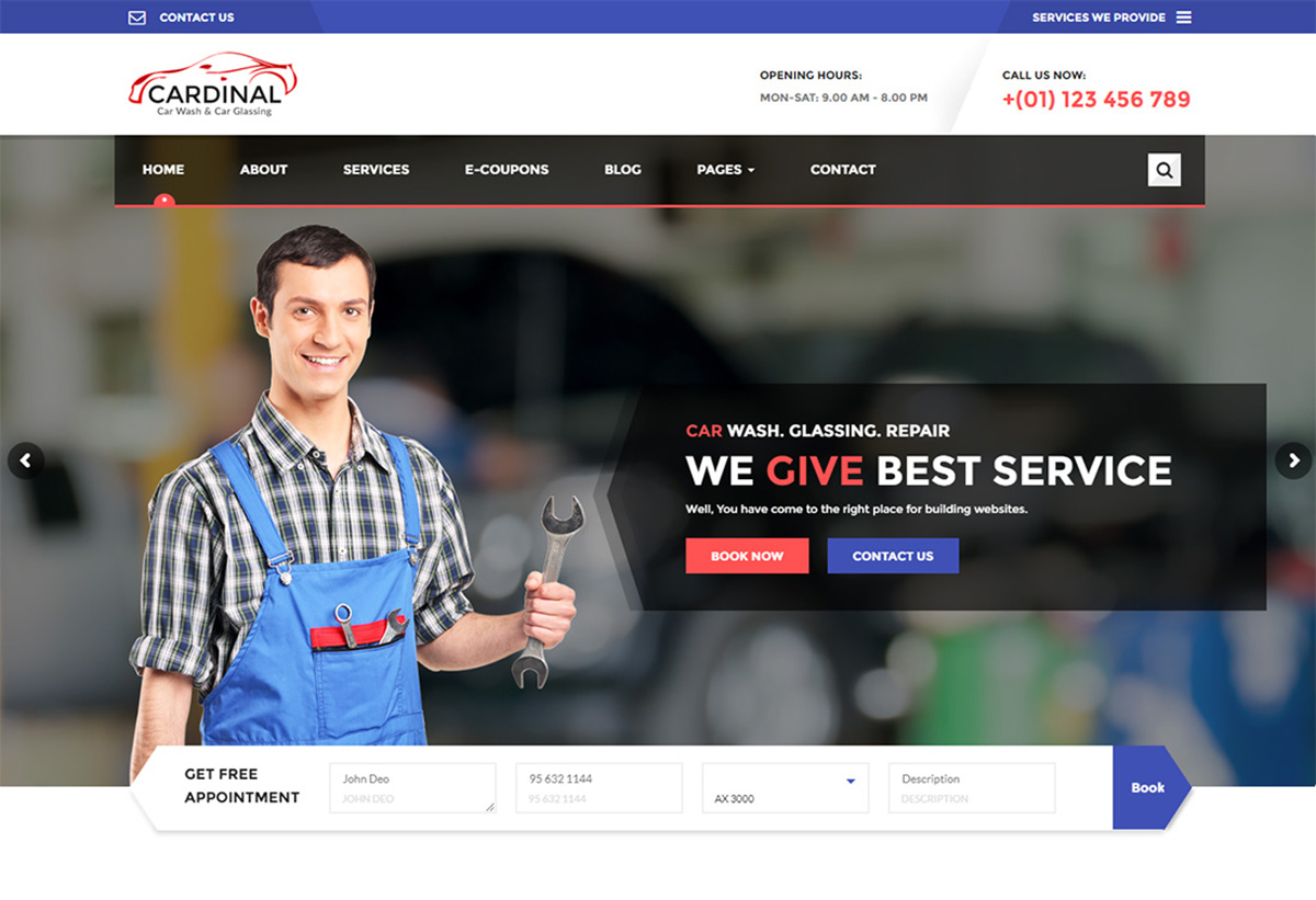 18 Best Car Wash WordPress Themes To Start Carwash And Auto Detailing Business 2019