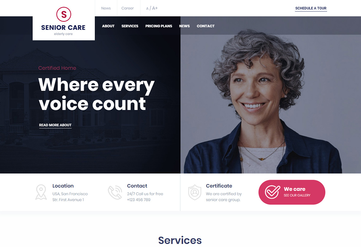 16 Best Elderly Care WordPress Themes For Senior Care, Assisted Living Websites 2020