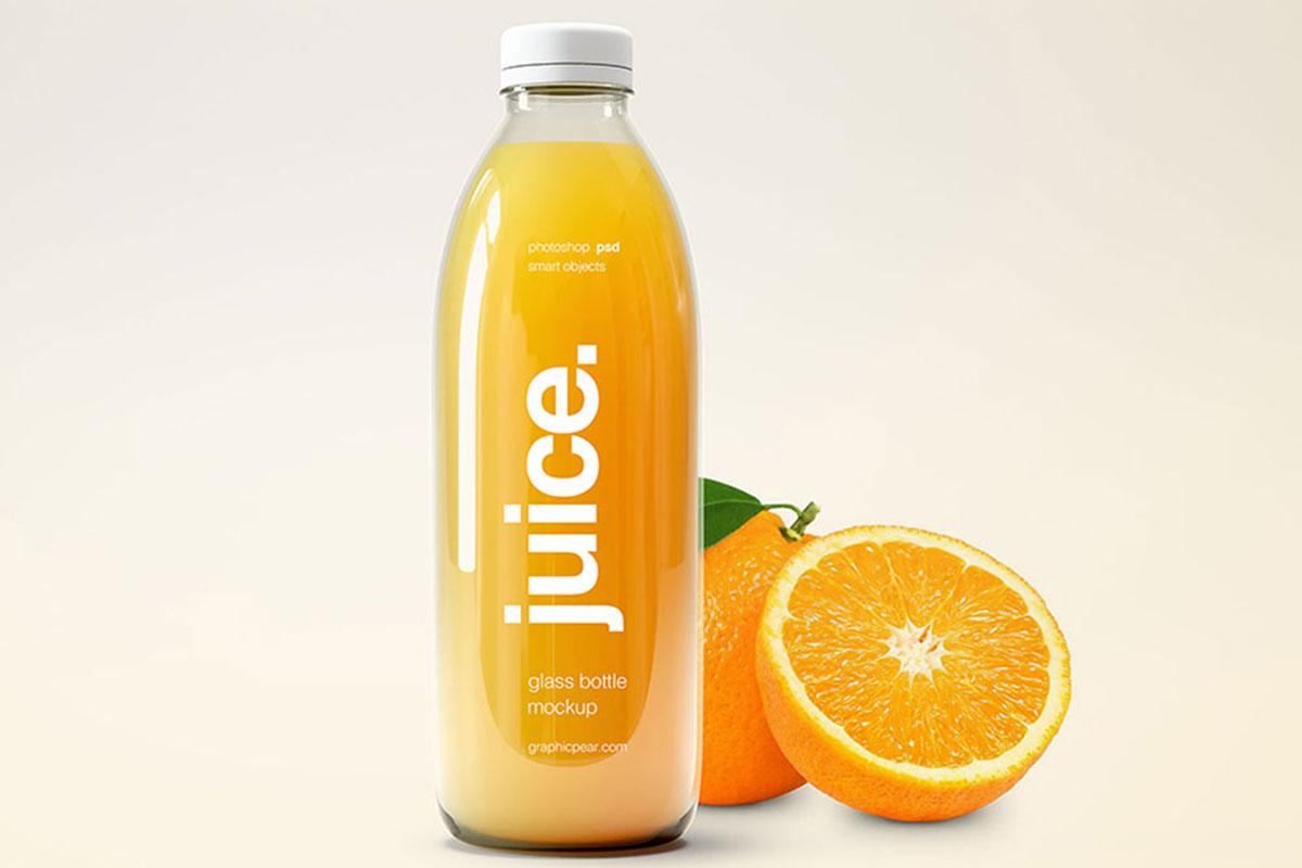 30 Useful Glass Bottle Mockups For Food And Beverage Packaging