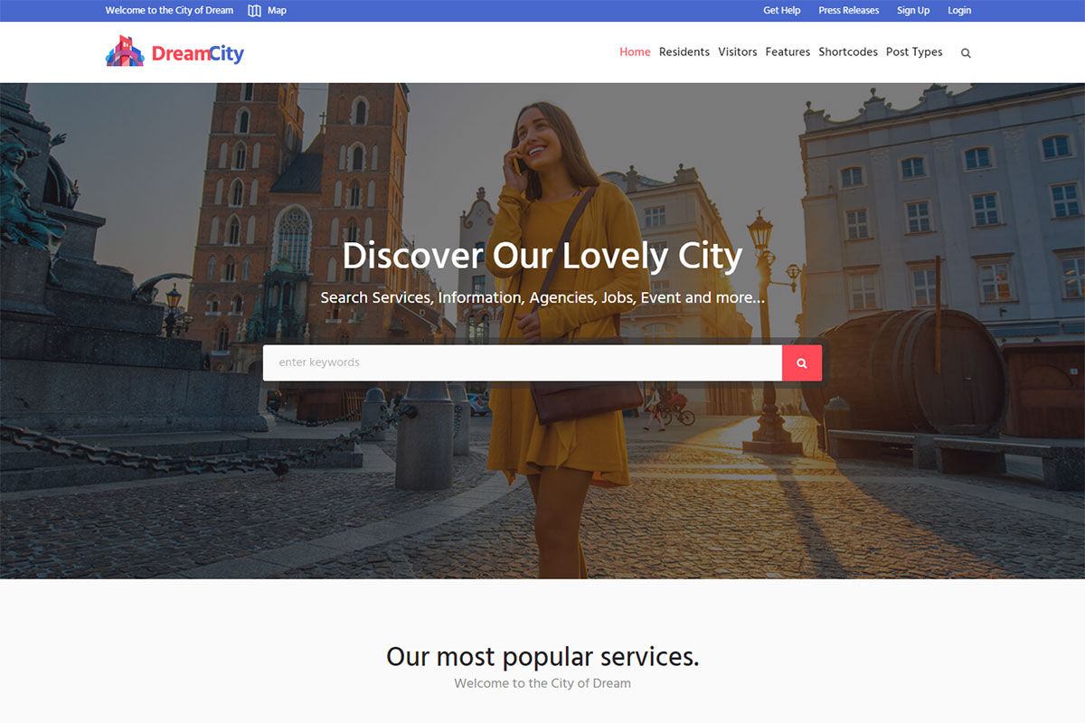 19 Best Government WordPress Themes For Political And Government Websites 2019