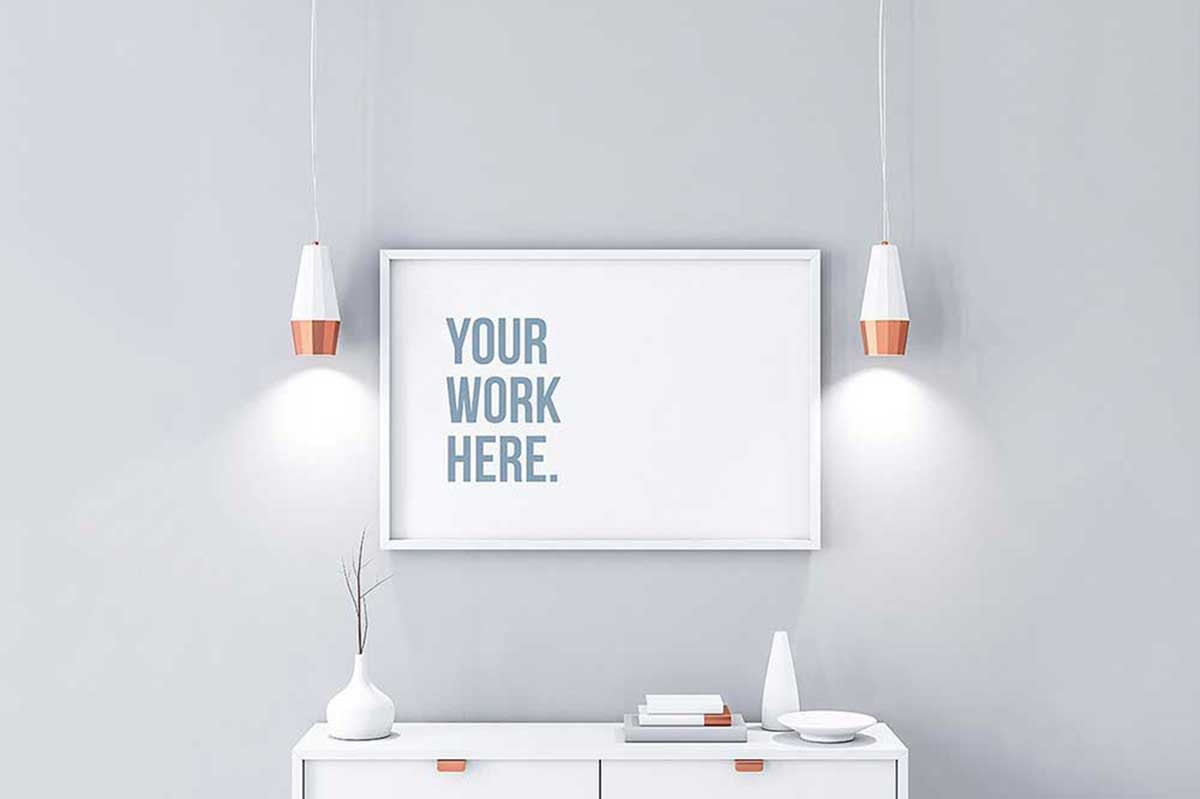 27 Exceptional Horizontal Poster Mockups For Effective Marketing