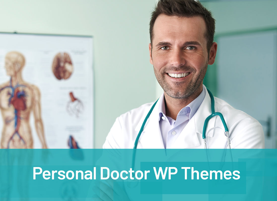 Top 20 Amazing Personal Doctor WordPress Themes 2019