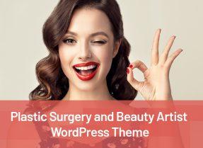 Beauty Artist WordPress Themes