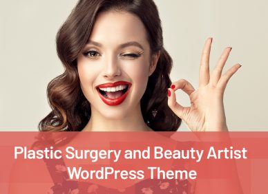 Beauty Artist WordPress Themes