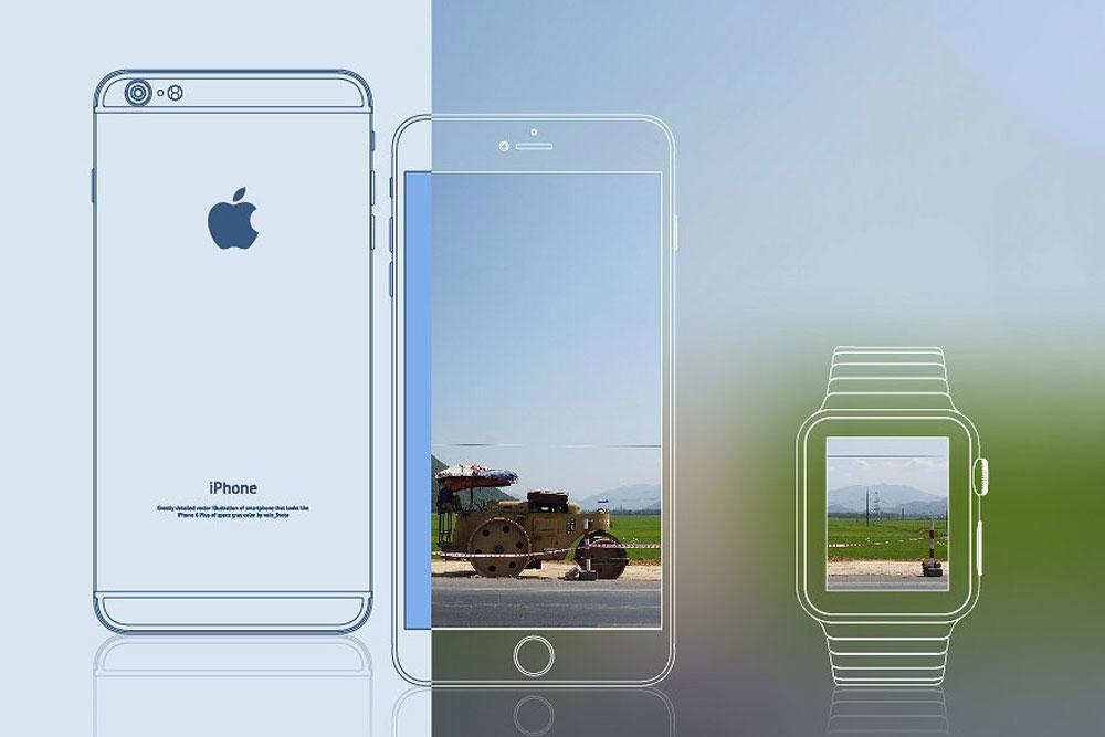 20 Flawless IPhone Outline Mockups For Excellent Design Presentation