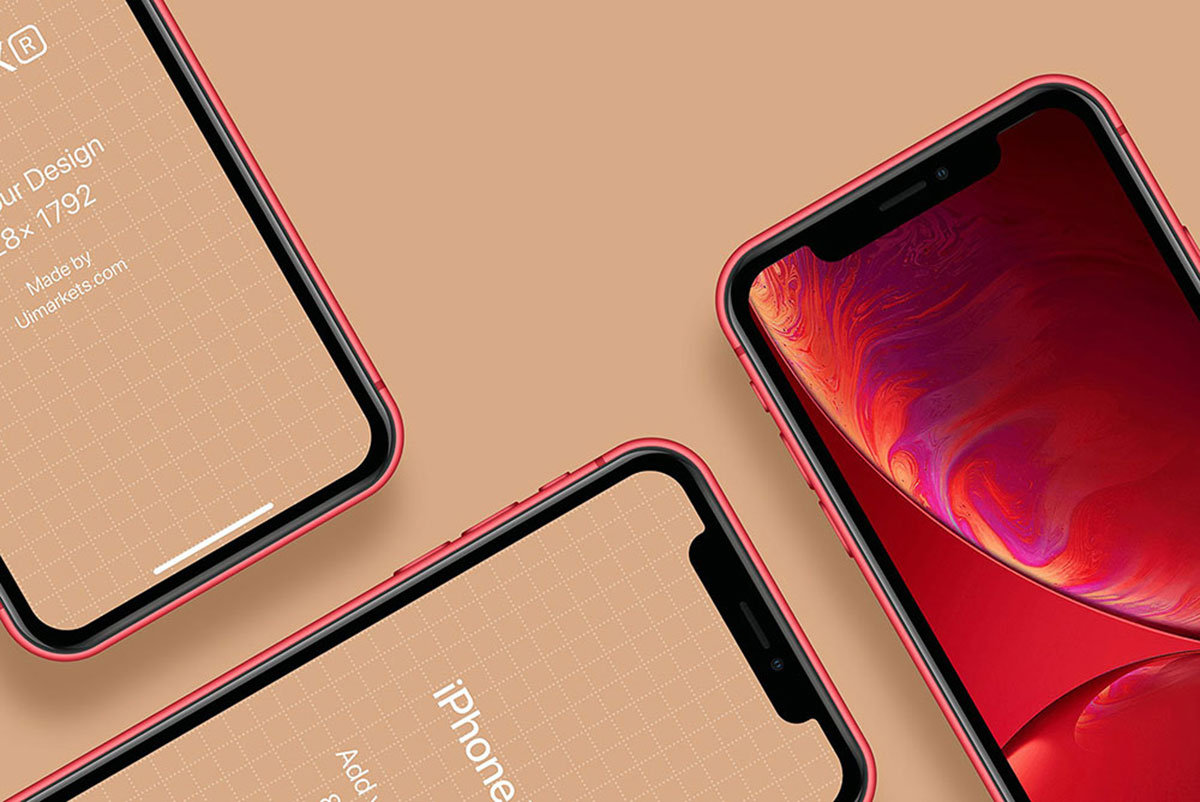 35 Best IPhone XR Mockups For Graphic Design