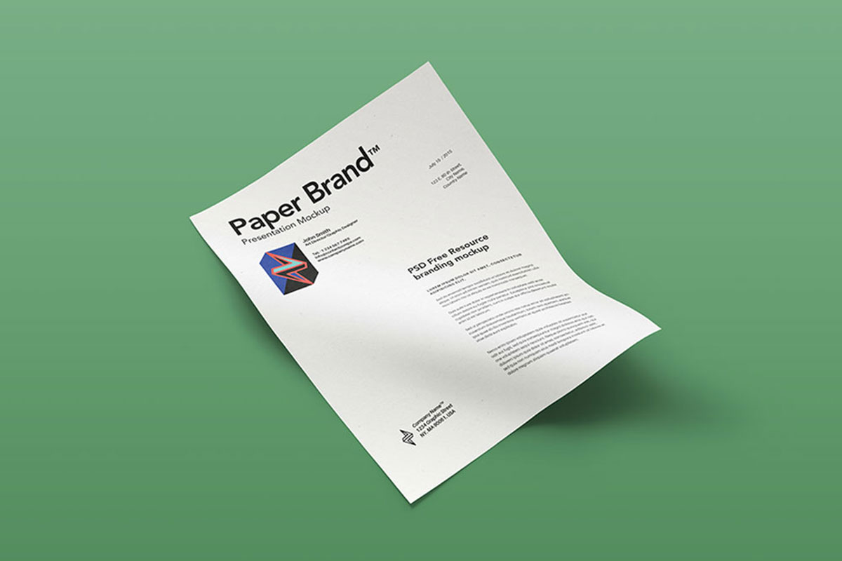 28 Best Letterhead Mockups To Improve Brand Identity