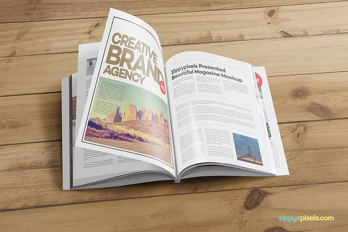 27 Best Magazine Ad Mockup For Effective Magazine Advertising
