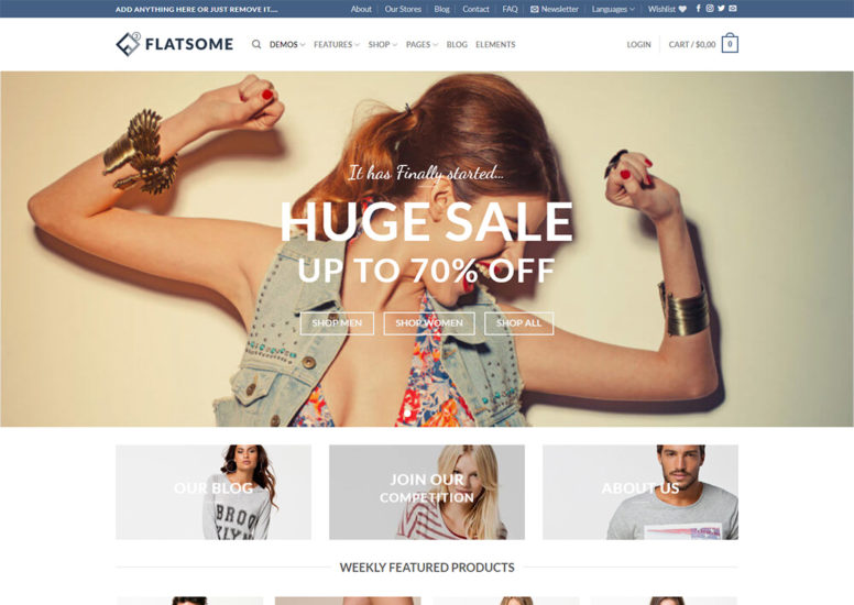 Mobile Friendly Ecommerce Theme