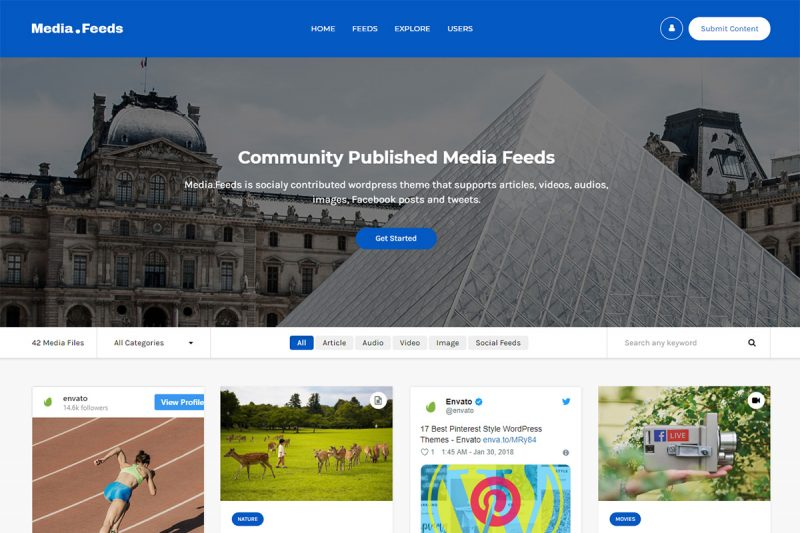 10 Best Photo Sharing WordPress Themes To Create Successful Photo Sharing Websites 2020