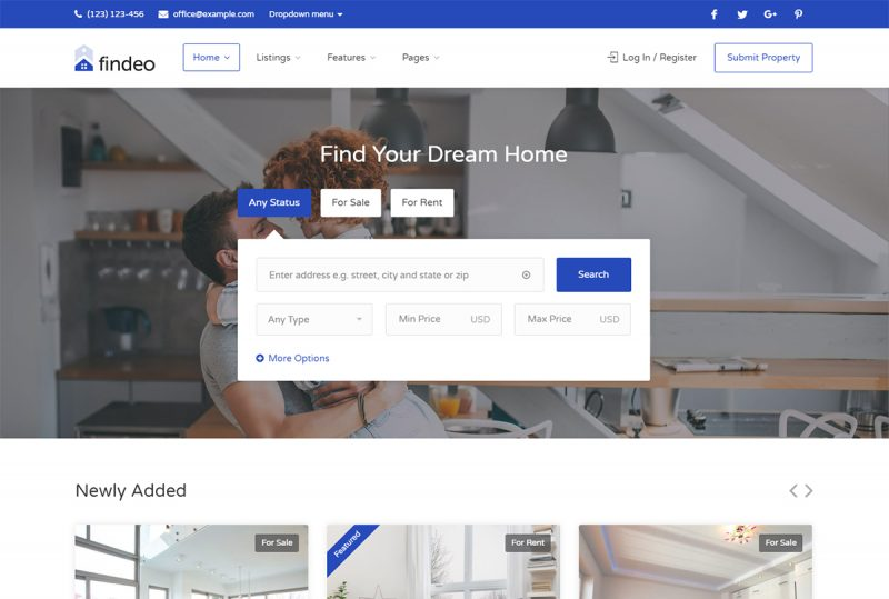 19 Best Property Rental WordPress Themes For Rental Property Business 2020
