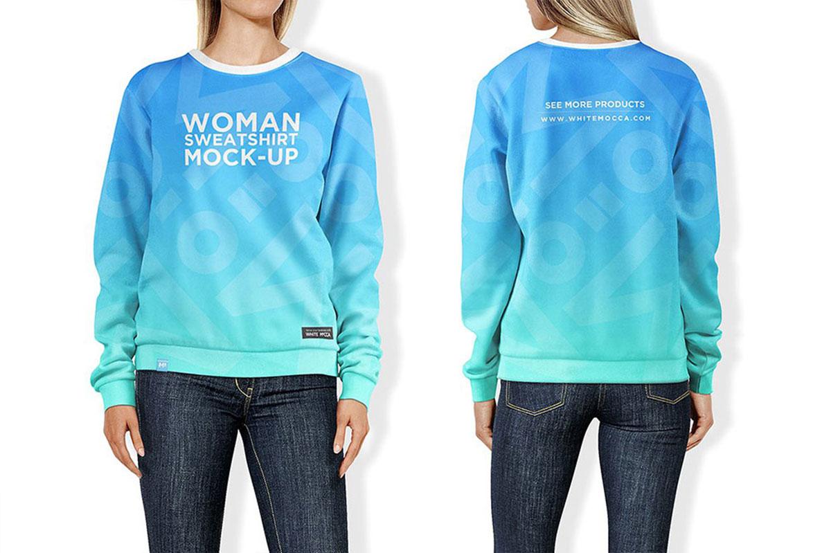 28 Best Sweatshirt Mockups For Clothing Brands