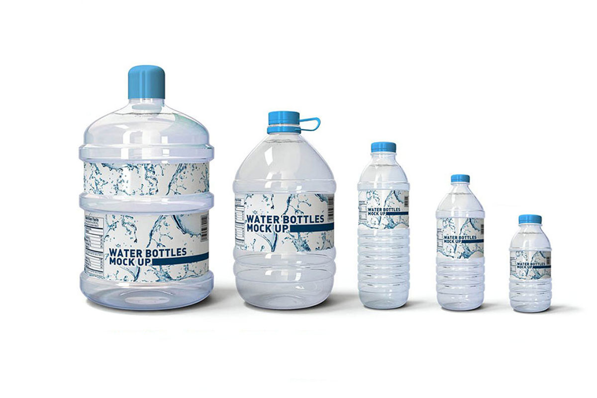 38 Best Water Bottle Mockups For Bottled Water Business