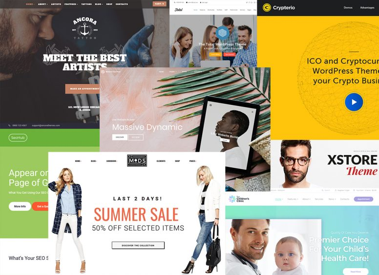 Envato July Summer 30-50% OFF Sale