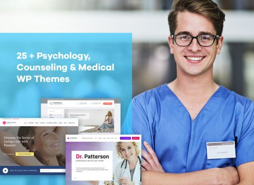 Psychology, Counseling & Medical WordPress Themes