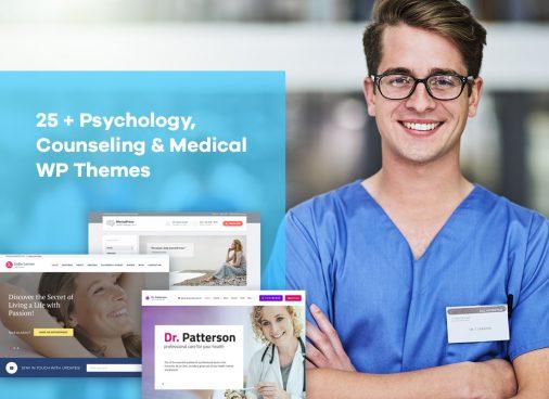 Psychology, Counseling & Medical WordPress Themes
