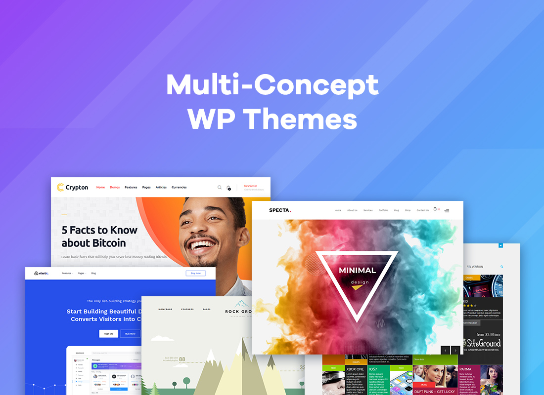 Best 30+ Multi-concept WordPress Themes To Make Your Website Stand Out
