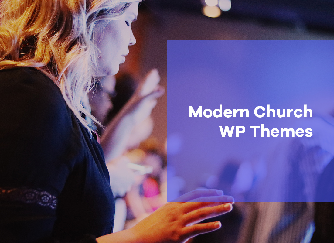 Inspiring Modern Church WordPress Themes 2019