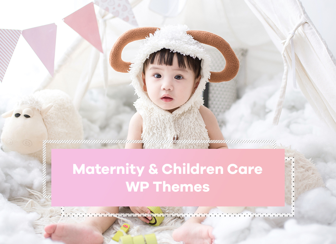 Maternity And Children Care WordPress Themes