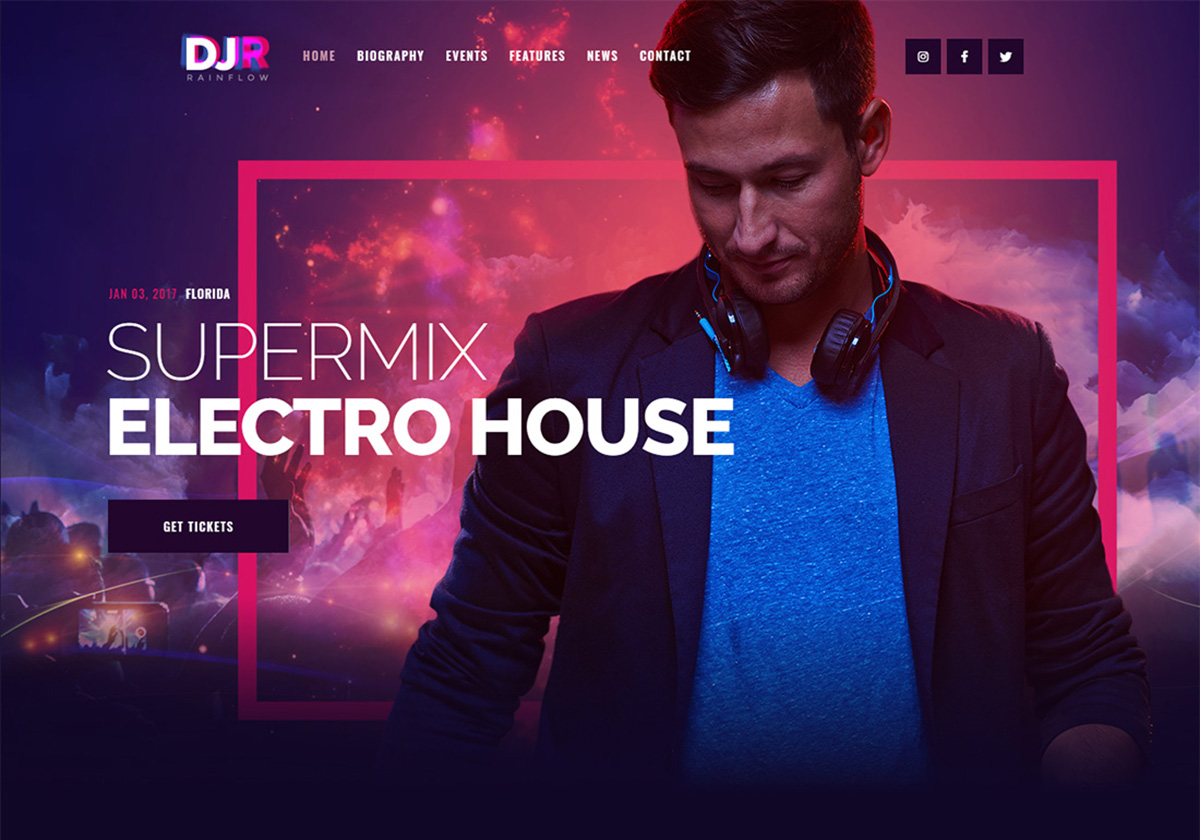 18 Best DJ WordPress Themes For DJs, Artists And Musicians 2019