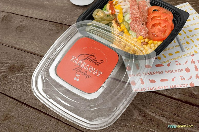 Food Packaging Mockups