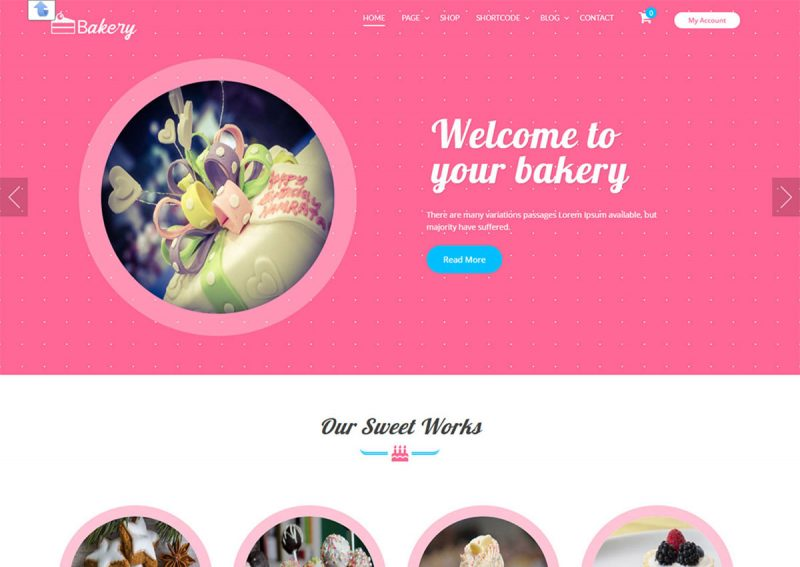 20 Best Free Bakery WordPress Themes For Cake Shops, Bakery Business 2020
