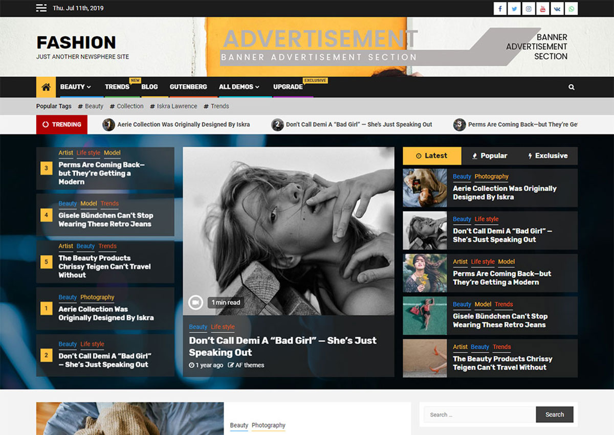 20 Free News WordPress Themes For News, Magazine, Publications, Editorial 2019