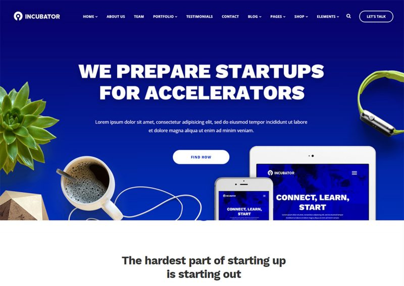 20 Best Startup Website Templates (HTML & WordPress) 2020