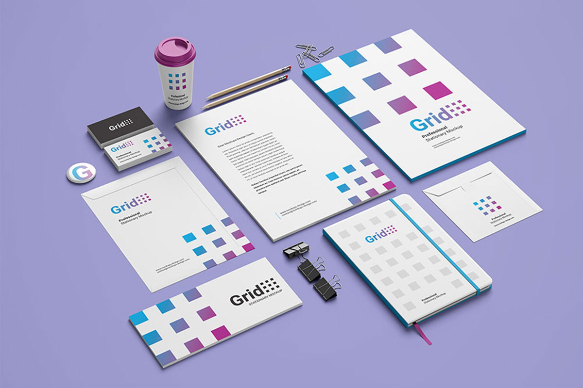 27 Awesome Stationery Mockups For Professional Branding