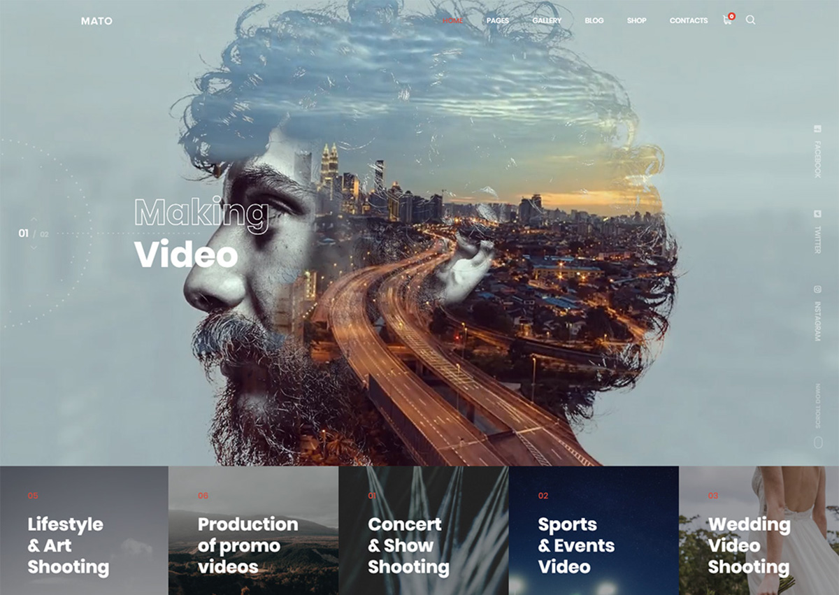 18 Best Videographer WordPress Themes For Videographer's Portfolio 2019