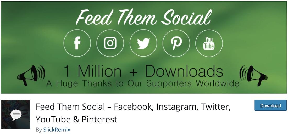 feed them social free plugin