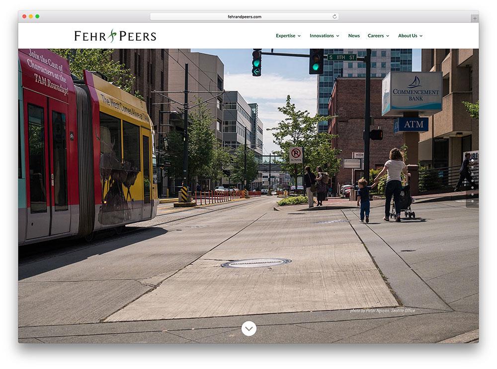 fehrandpeers-transport-website-with-divi-theme
