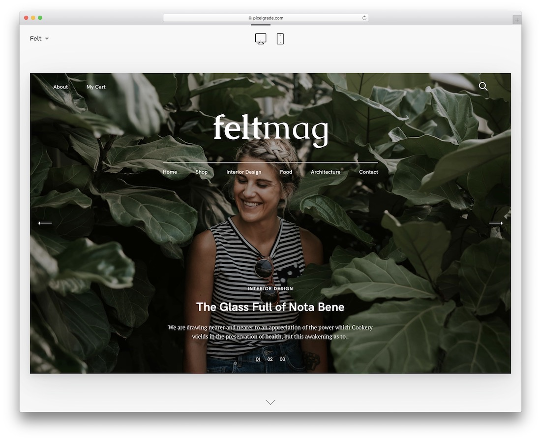 felt magazine wordpress theme