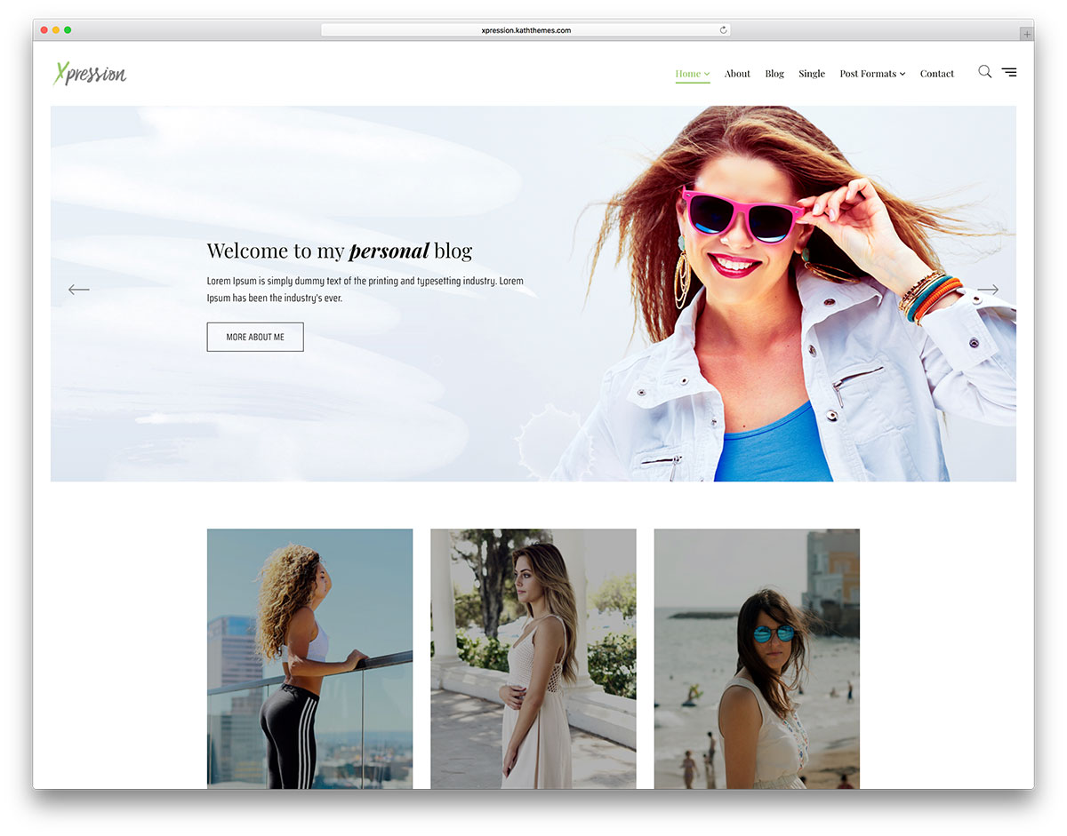 20 Free & 20 Premium Feminine WordPress Themes For Fashion & Mom Blog 2019