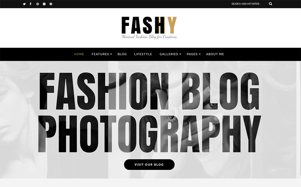 Fashy - Fashion Blog WordPress Theme