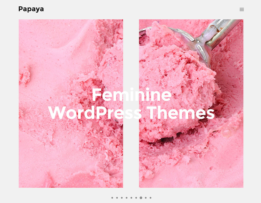 Top 31 Girly & Feminine WordPress Themes For Food Blogs, Magazines And ECommerce Websites 2020