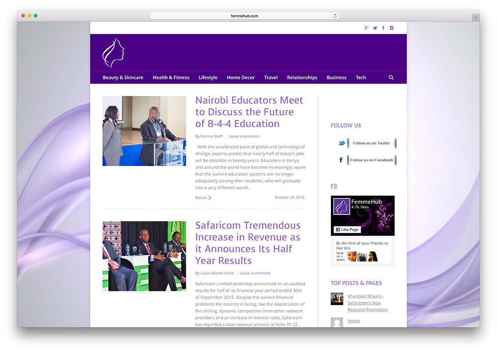 femmehub-health-site-example-with-the7-theme