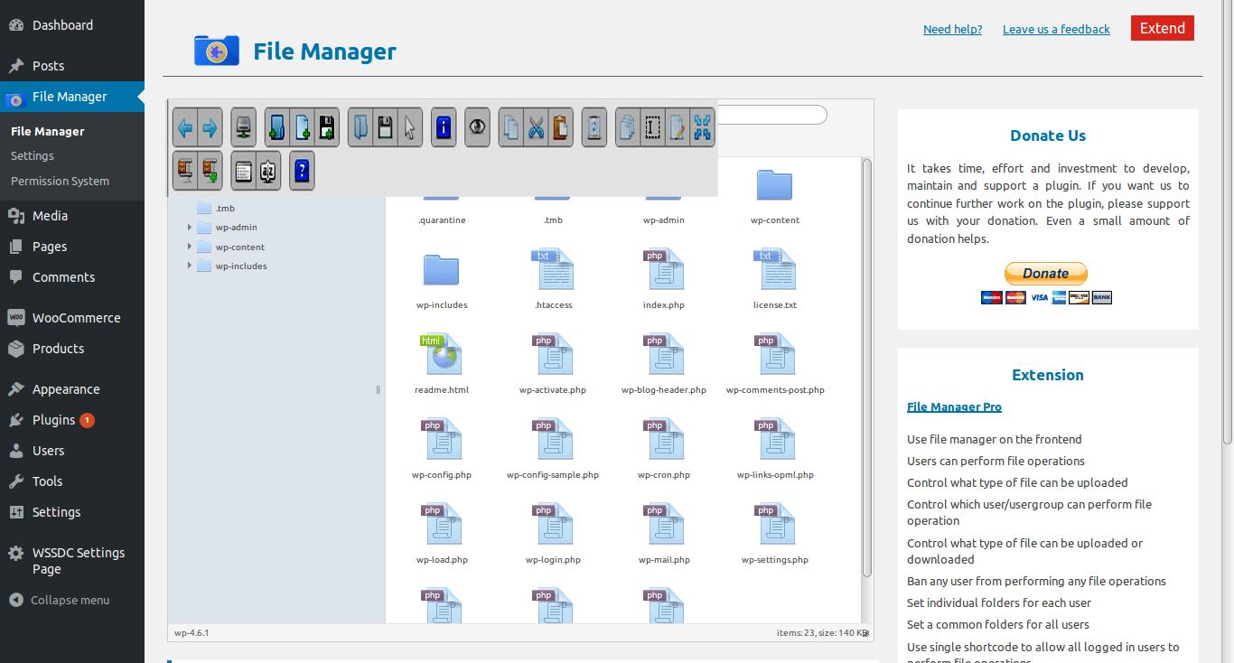 Functional WordPress File Manager Plugins