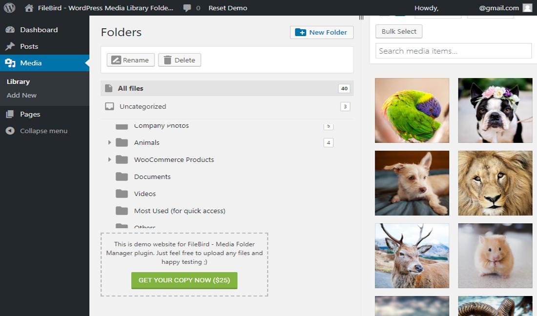 Neat WordPress File Manager Plugins
