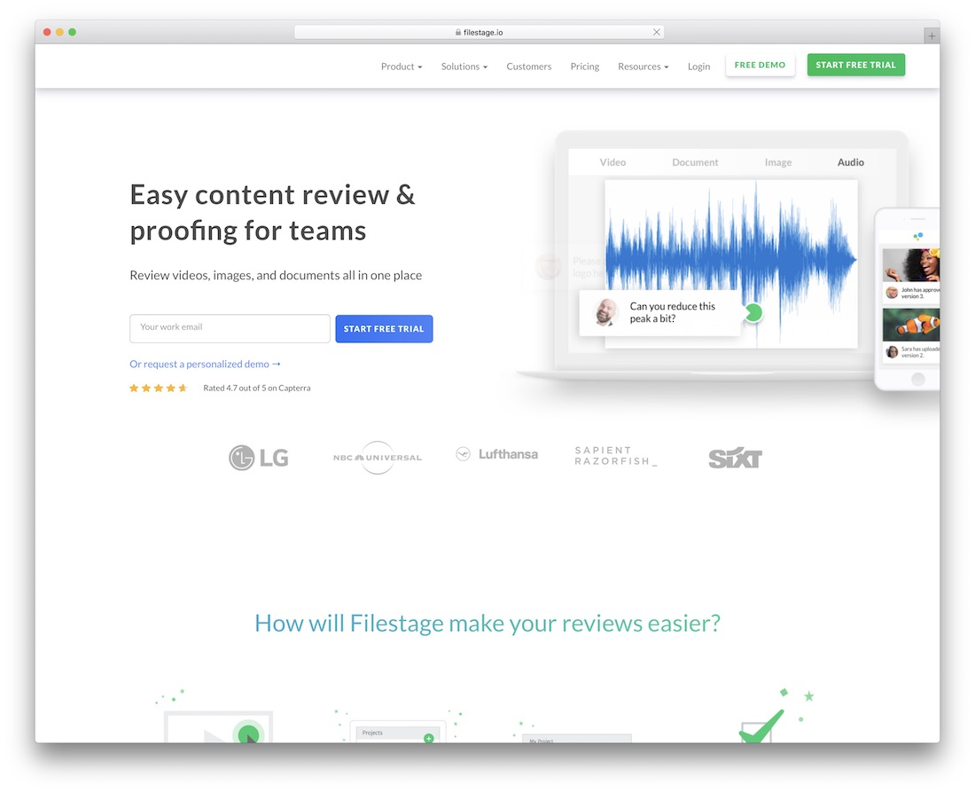 filestage tool for graphic designers