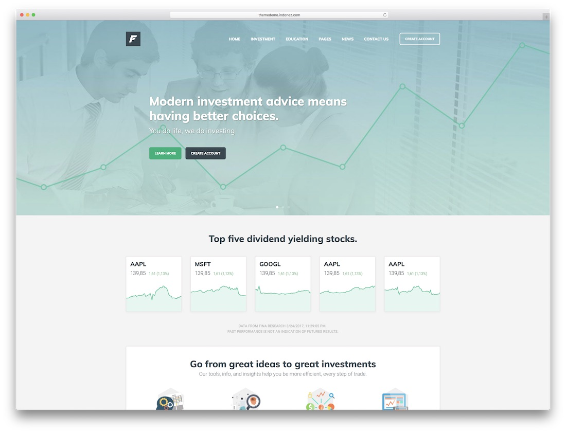 35 Best Responsive Cryptocurrency Website Templates 2019