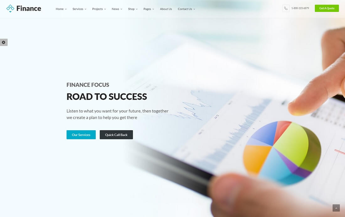 finance cryptocurrency wordpress theme